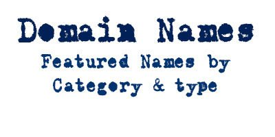 Domain Names by Category