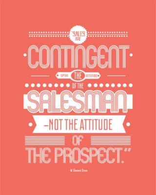 Sales Psychology & the sales person's attitude